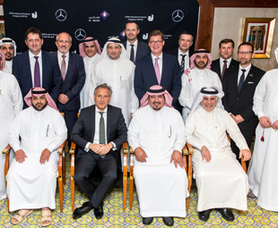 Success in Saudi for Merc! (Thanks to a South African)