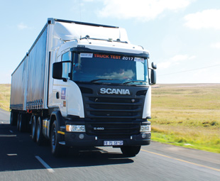 The Scania G460 is one of the brand's best-selling models – and a natural entry into Truck Test 2017.