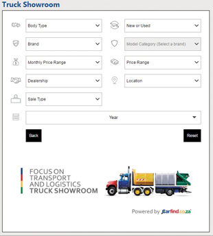 Trucks now for sale on the FOCUS website