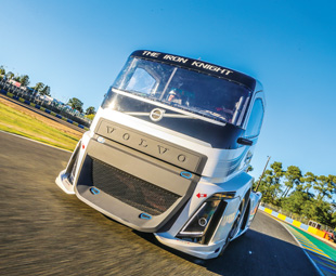 Driving the fastest truck in the world!