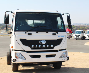 Eicher goes pro in SA!
