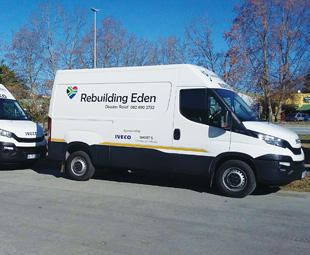 Helping to rebuild Eden