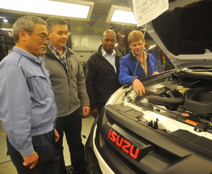 Isuzu Motors South Africa leaders for the future