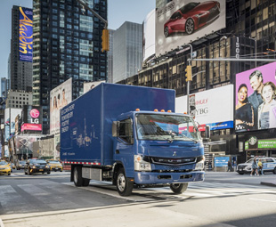 Fuso eCanter officially hits the streets