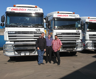 OneLogix keeps on trucking with DAF Trucks