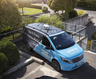 Vans, drones and e-commerce take flight