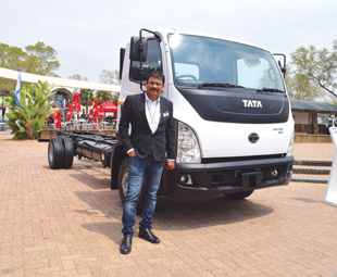 Rajiv Jaiswal shows off the new Ultra.