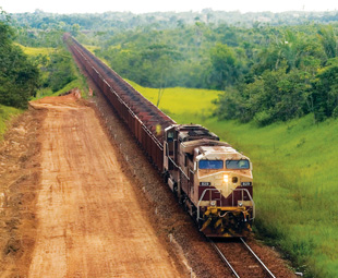 Rail set to save the day in Brazil