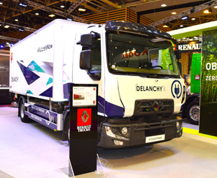 Renault reveals electric truck