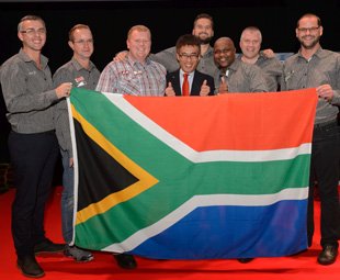 The best UD driver in the world is from SA!