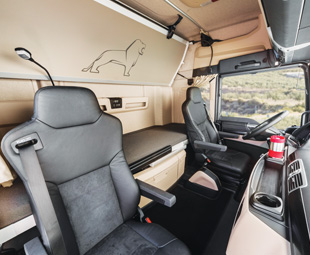 The new interiors of the TG trucks are simply stunning.