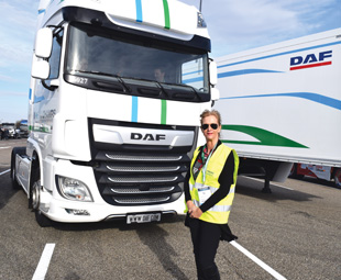 This DAF study truck features an electric motor from a BMW X5. We drove the vehicle at Solutrans; it's amazing!
