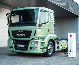 As you read this issue of FOCUS, customers will start driving – and testing – MAN's new eTruck!