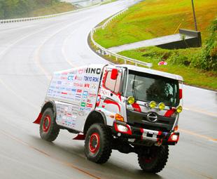 Hino to hunt records at Dakar 2018