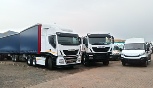New Iveco MB Truck City in Johannesburg