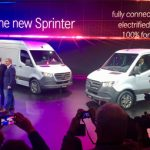 Mercedes-Benz shows Sprinter to the world